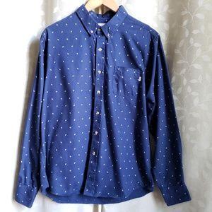 Obey Shirts - {Obey}*Rare* Propaganda Blue Paisley Button Up Md